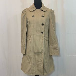 MARC by Marc Jacobs Tan Peacoat